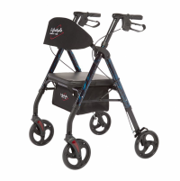Image of Royal Deluxe Rollator - Blue
