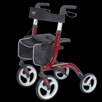 Image of Venture - Euro Style Rollator - Red