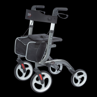 Image of Venture - Euro Style Rollator - Graphite Grey